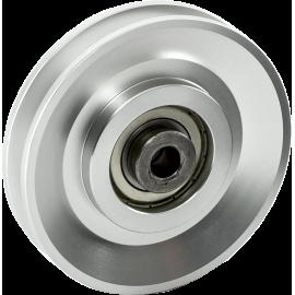 Aluminiowy krążek linowy na łożysku Z-AR-90 | bloczek ∅90mm IRONSPORTS - 1 | klubfitness.pl