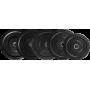 Obciążenie gumowane olimpijskie BUMPER STAYER SPORT czarne wagi od 5 kg do 25 kg,producent: Stayer Sport, zdjecie photo: 2 | klu