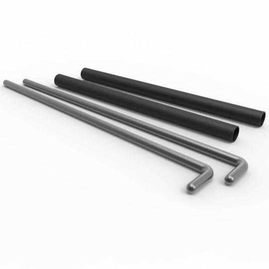 Podpory bezpieczeństwa szpilki ATX® PPS-60 | Pin Pipe Safety 500-60cm ATX - 1 | klubfitness.pl | sprzęt sportowy sport equipment