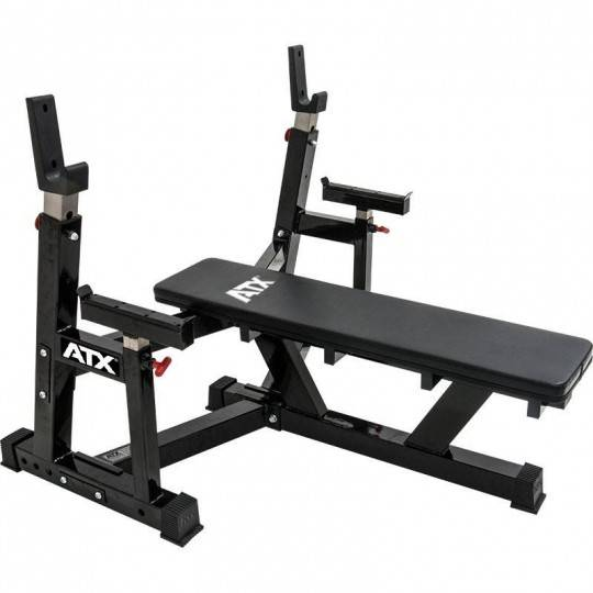 Ławka pod sztangę ATX® OBX-750 Warrior Bench Press | olimpijska ATX® - 1 | klubfitness.pl