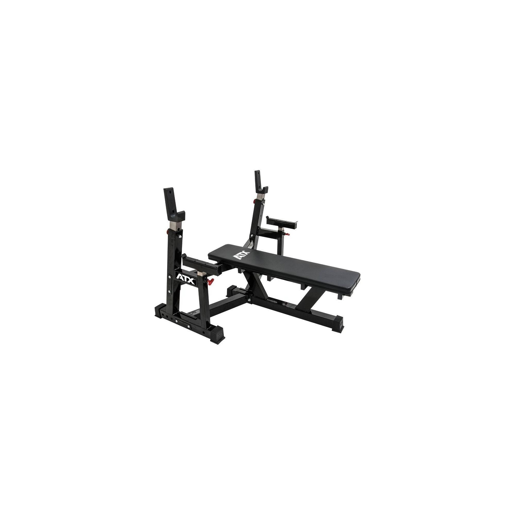 Ławka pod sztangę ATX® OBX-750 Warrior Bench Press | olimpijska ATX - 1 | klubfitness.pl | sprzęt sportowy sport equipment