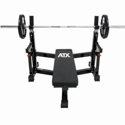 Ławka pod sztangę ATX® OBX-750 Warrior Bench Press | olimpijska ATX - 2 | klubfitness.pl | sprzęt sportowy sport equipment