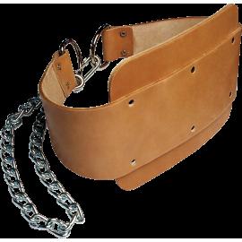 Pas kulturystyczny obciążeniowy dip Body-Solid MA330 | skóra licowa Body-Solid - 1 | klubfitness.pl | sprzęt sportowy sport equi
