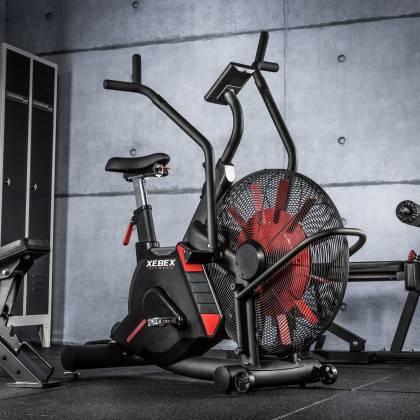 Rower crossfit Xebex® Magnetic Air Bike | opór magnetyczno-powietrzny Xebex Fitness - 2 | klubfitness.pl | sprzęt sportowy sport