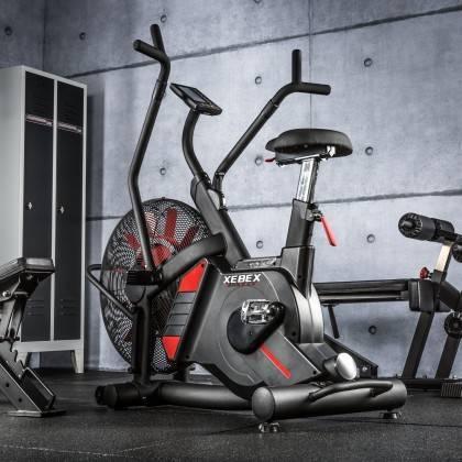 Rower crossfit Xebex® Magnetic Air Bike | opór magnetyczno-powietrzny Xebex Fitness - 3 | klubfitness.pl | sprzęt sportowy sport
