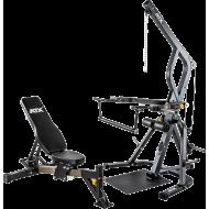 Atlas treningowy na wolne obciążenia ATX® WSX-670 Triplex | izolowane ramiona ATX® - 2 | klubfitness.pl | sprzęt sportowy sport