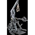 Stanowisko wolne obciążenia ATX® Triplex   izolowane ramiona   wyciąg linowy ATX® - 1   klubfitness.pl