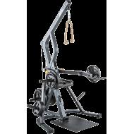 Stanowisko na wolne obciążenia ATX® Triplex | izolowane ramiona | wyciąg linowy ATX® - 2 | klubfitness.pl | sprzęt sportowy spor