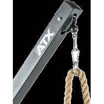 Stanowisko na wolne obciążenia ATX® Triplex | izolowane ramiona | wyciąg linowy ATX® - 4 | klubfitness.pl | sprzęt sportowy spor