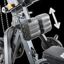 Stanowisko na wolne obciążenia ATX® Triplex | izolowane ramiona | wyciąg linowy ATX® - 6 | klubfitness.pl | sprzęt sportowy spor