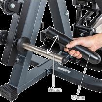 Stanowisko na wolne obciążenia ATX® Triplex | izolowane ramiona | wyciąg linowy ATX® - 7 | klubfitness.pl | sprzęt sportowy spor