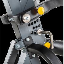 Stanowisko na wolne obciążenia ATX® Triplex | izolowane ramiona | wyciąg linowy ATX® - 8 | klubfitness.pl | sprzęt sportowy spor