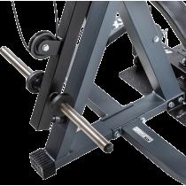 Stanowisko na wolne obciążenia ATX® Triplex | izolowane ramiona | wyciąg linowy ATX® - 9 | klubfitness.pl | sprzęt sportowy spor