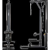 Wyciąg linowy ATX® LSW-630 Lat Machine | wyciąg górny dolny | stos 115kg ATX® - 2 | klubfitness.pl | sprzęt sportowy sport equip