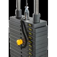 Wyciąg linowy ATX® LSW-630 Lat Machine | wyciąg górny dolny | stos 115kg ATX® - 4 | klubfitness.pl | sprzęt sportowy sport equip