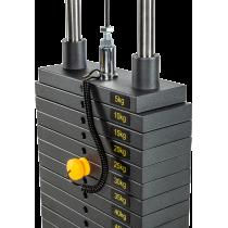 Wyciąg linowy ATX® LSW-630 Lat Machine | wyciąg górny dolny | stos 115kg ATX® - 4 | klubfitness.pl
