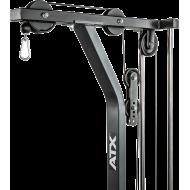 Wyciąg linowy ATX® LSW-630 Lat Machine | wyciąg górny dolny | stos 115kg ATX® - 6 | klubfitness.pl | sprzęt sportowy sport equip