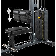 Wyciąg linowy ATX® LSW-630 Lat Machine | wyciąg górny dolny | stos 115kg ATX® - 8 | klubfitness.pl | sprzęt sportowy sport equip