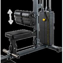 Wyciąg linowy ATX® LSW-630 Lat Machine | wyciąg górny dolny | stos 115kg ATX® - 8 | klubfitness.pl