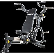 Ławka treningowa izolowane ramiona ATX® LMP-650 | wolne obciążenia ATX® - 1 | klubfitness.pl