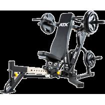 Ławka treningowa izolowane ramiona ATX® LMP-650 | wolne obciążenia ATX® - 3 | klubfitness.pl