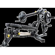 Ławka treningowa izolowane ramiona ATX® LMP-650 | wolne obciążenia ATX® - 4 | klubfitness.pl