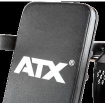 Ławka treningowa izolowane ramiona ATX® LMP-650 | wolne obciążenia ATX® - 9 | klubfitness.pl