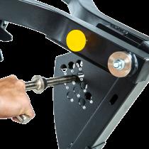 Ławka treningowa izolowane ramiona ATX® LMP-650 | wolne obciążenia ATX® - 6 | klubfitness.pl