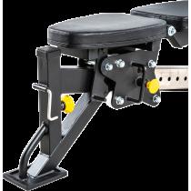Ławka treningowa izolowane ramiona ATX® LMP-650 | wolne obciążenia ATX® - 8 | klubfitness.pl