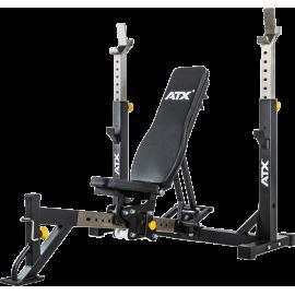 Ławka treningowa pod sztangę ATX® OBM-650 | olimpijska ATX® - 1 | klubfitness.pl | sprzęt sportowy sport equipment