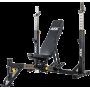 Ławka olimpijska ATX® OBM-650 | treningowa pod sztangę ATX® - 2 | klubfitness.pl