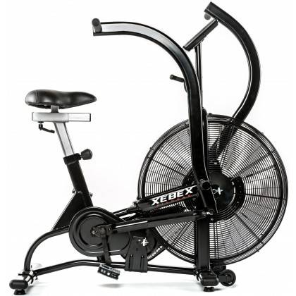 Rower crossfit Xebex® Magnetic Air Bike MG-3 | opór magnetyczno-powietrzny Xebex Fitness - 4 | klubfitness.pl