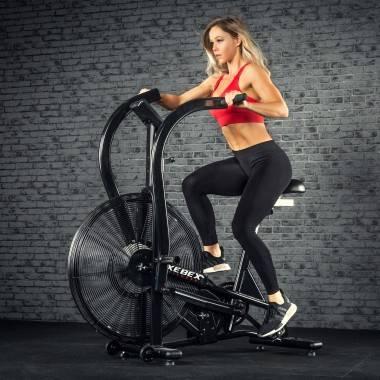Rower crossfit Xebex® Magnetic Air Bike MG-3   opór magnetyczno-powietrzny Xebex Fitness - 3   klubfitness.pl   sprzęt sportowy