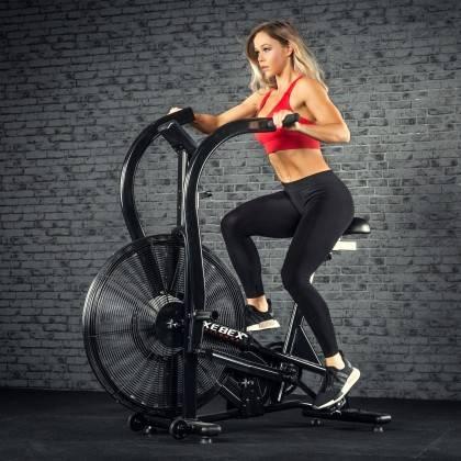 Rower crossfit Xebex® Magnetic Air Bike MG-3 | opór magnetyczno-powietrzny Xebex Fitness - 3 | klubfitness.pl
