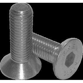 Śruba z łbem stożkowym z gniazdem sześciokątnym DIN 7991 M12x25 10.9 NONAME - 1 | klubfitness.pl