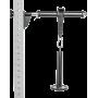 Zestaw trenażera przedramienia ATX® WRT-SET | Rackable Wrist Roller ATX® - 1 | klubfitness.pl