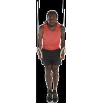 Drewniane koła gimnastyczne z taśmą Sveltus | średnica 23.5cm | taśmy 400cm Sveltus - 5 | klubfitness.pl