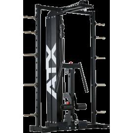 Wyciąg linowy ze stosem 125kg & dipping ATX® SCR-760-LMO-SW ATX® - 1 | klubfitness.pl