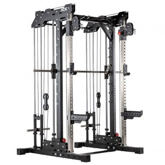 Brama ATX® SCR-760-PL suwnica Smith'a | wyciągi na wolne obciążenia ATX® - 1 | klubfitness.pl