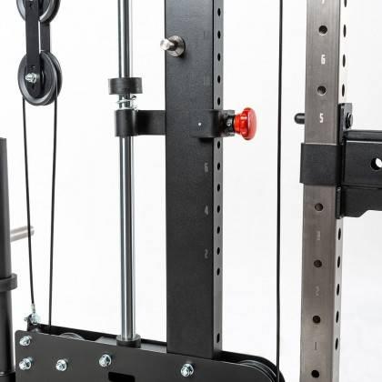 Brama z suwnicą Smith'a ATX® SCR-760-PL | wyciągi na wolne obciążenia ATX® - 7 | klubfitness.pl