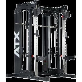 Brama z suwnicą Smith'a ATX® SCR-760-SW | wyciąg ze stosami 2x55kg ATX® - 1 | klubfitness.pl