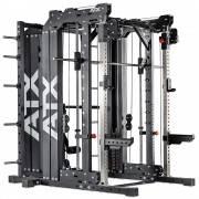 Brama z suwnicą Smith'a wyciągiem 125kg & stacją dip ATX® SCR-760-KPS-SW   brama 2x55kg ATX® - 1   klubfitness.pl