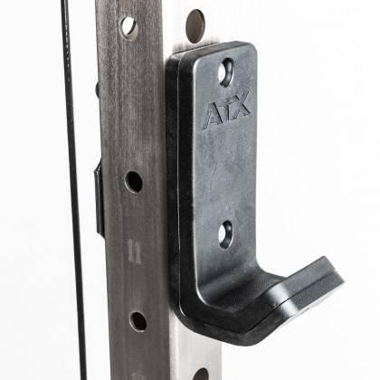 Brama z suwnicą Smith'a wyciągiem 125kg & stacją dip ATX® SCR-760-KPS-SW | brama 2x55kg ATX® - 9 | klubfitness.pl