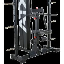 Brama z suwnicą Smith'a wyciągiem 125kg & stacją dip ATX® SCR-760-KPS-SW | brama 2x55kg ATX® - 12 | klubfitness.pl