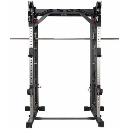 Brama z suwnicą Smith'a wyciągiem 125kg & stacją dip ATX® SCR-760-KPS-SW | brama 2x55kg ATX® - 17 | klubfitness.pl