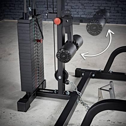 Suwnica Smith'a z wyciągiem linowym ATX® MPX-620-LTO-650-PL   wyciąg ze stosem 115kg ATX® - 6   klubfitness.pl