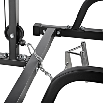Suwnica Smith'a z wyciągiem linowym ATX® MPX-620-LTO-650-PL   wyciąg ze stosem 115kg ATX® - 10   klubfitness.pl