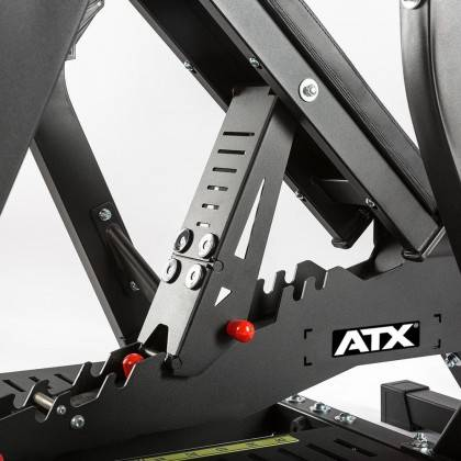 Ławka z podestem pod sztangę ATX® OBM-700 | olimpijska ATX® - 7 | klubfitness.pl