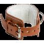 Opaska na kostkę do wyciągu WLA-1000 | naturalna skóra IRONSPORTS - 1 | klubfitness.pl