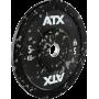 Obciążenie gumowane olimpijskie bumper ATX® 50-ATX-CSP Splash | waga: 5kg ÷ 25kg ATX® - 1 | klubfitness.pl